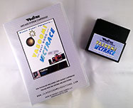 Vectrace Vaboom for the Vectrex box and cart 1