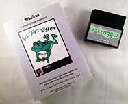 V-Frogger for Vectrex